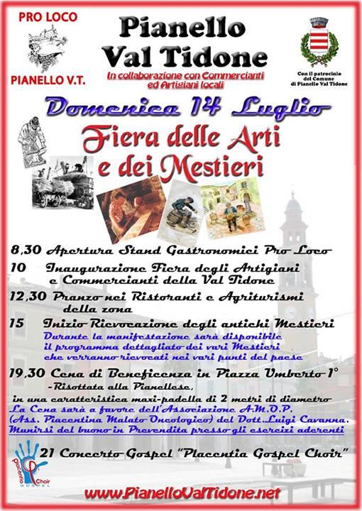 Eventi luglio 2013 Val Tidone
