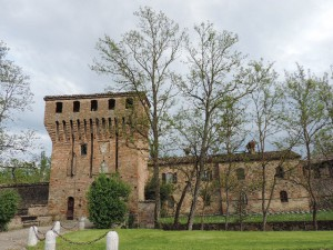 The castle of Paderna