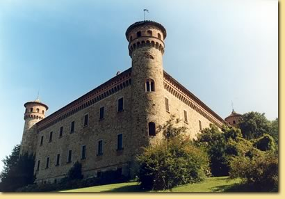 The castle of Rezzanello