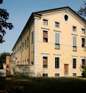 Villa Braghieri, facciata est