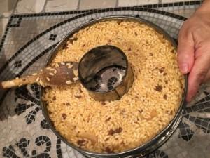 Bomba di riso preparazione alla cottura