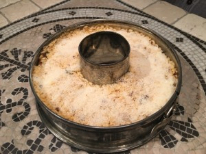 Bomba di riso preparazione stampo