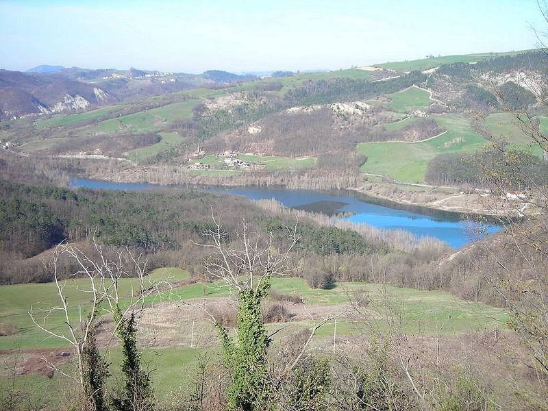Lago di Trebecco in Val Tidone